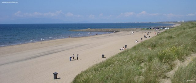 There will almost certainly* be views like this of Irvine beach out the window. (*beach view not guaranteed)
